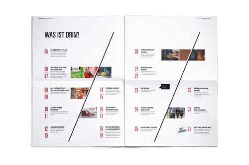 markenidentität moc münchen editorial design
