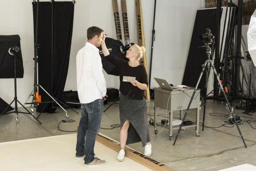 make-up shooting artdirection