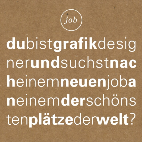 Mediengestalter sons backstage blog agentur f r for Job grafiker
